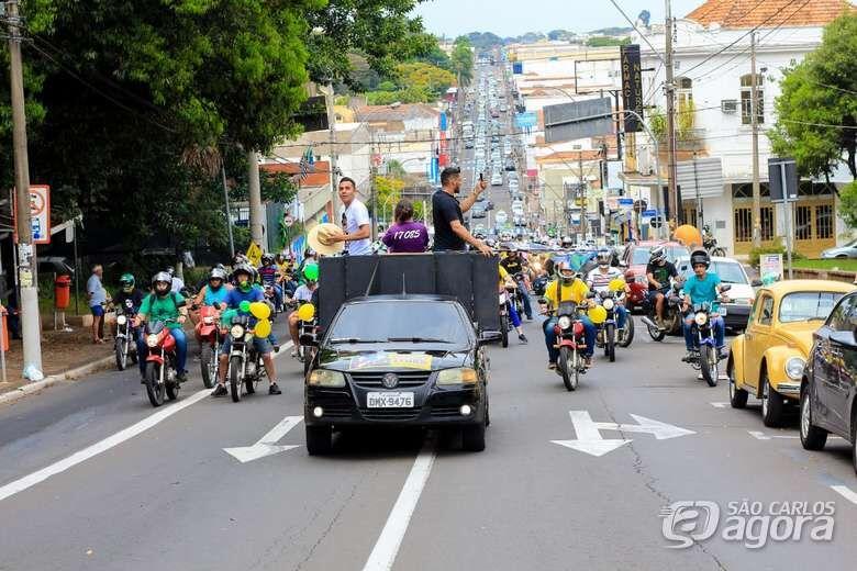 Apoiadores de Bolsonaro organizam manifestação para domingo em São Carlos - Crédito: Marco Lucio/Arquivo
