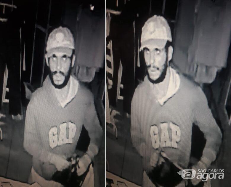 Polícia procura ladrão que está agindo no Cidade Jardim - Crédito: Divulgação