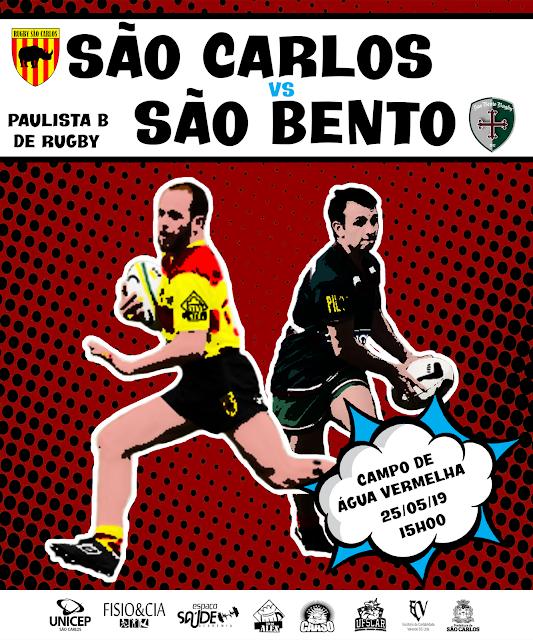 """""""Guerra Santa"""" em São Carlos marca a rodada do Paulista de Rugby - Crédito: Divulgação"""