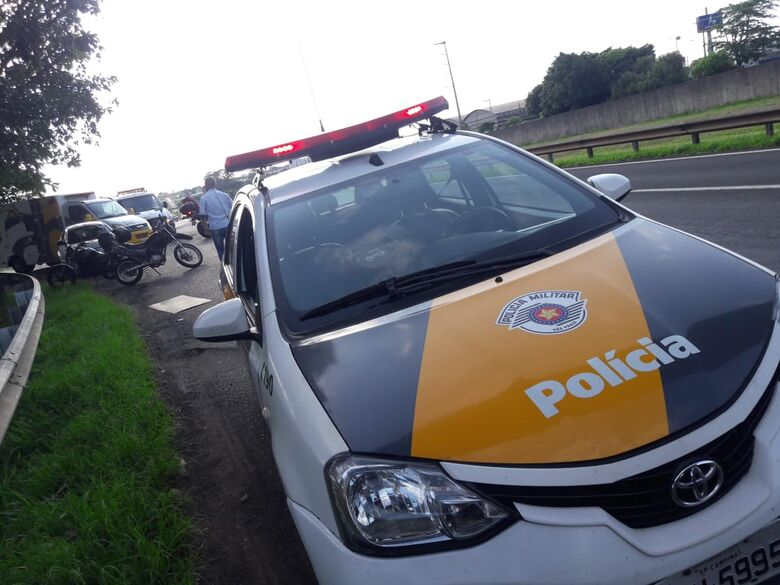 Procurado pela Justiça é detido por policiais rodoviários na Washington Luís - Crédito: Arquivo/SCA