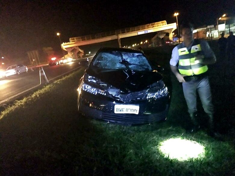 Homem morre atropelado na rodovia Washington Luis - Crédito: São Carlos Agora