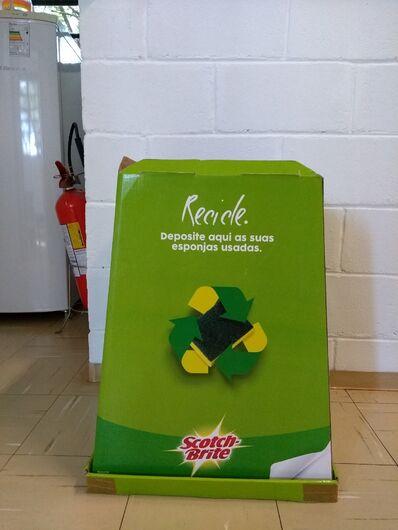 UFSCar instala ponto de coleta de esponjas de cozinha - Crédito: Divulgação
