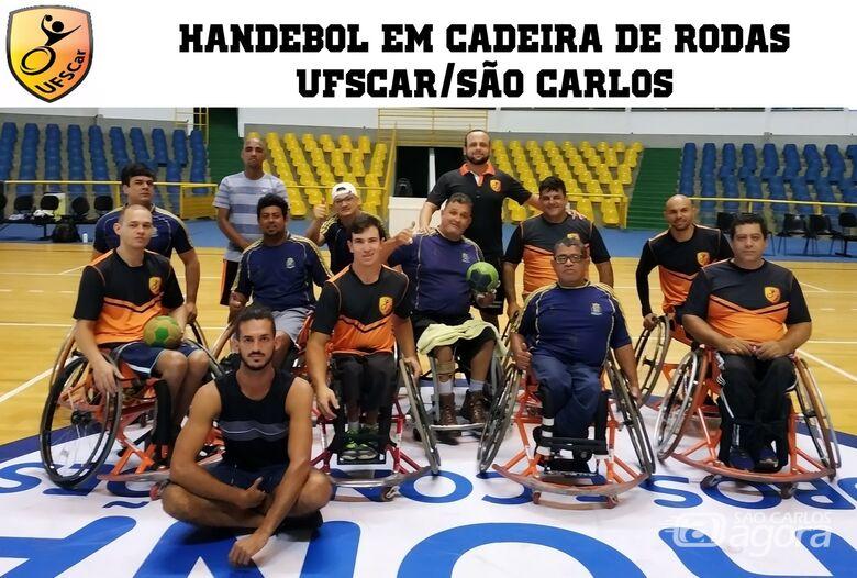 UFSCar promove primeira etapa do Campeonato Paulista de Handebol em Cadeira de Rodas - Crédito: Divulgação