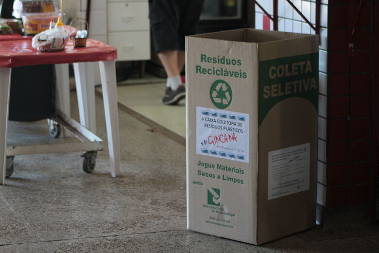 UFSCar faz gincana para contabilizar uso de plástico descartável no Campus São Carlos - Crédito: SGAS/UFSCar