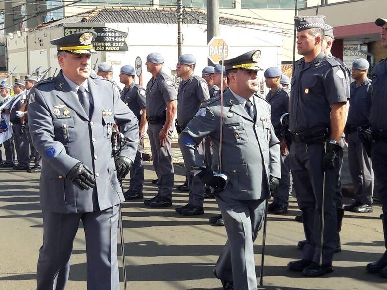 Solenidade marca passagem de comando do 38° Batalhão da PM - Crédito: Maycon Maximino