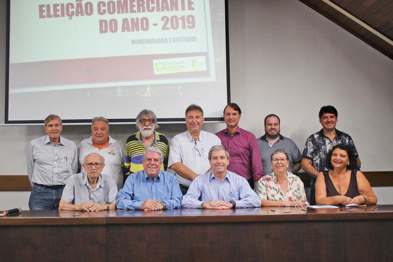 Acisc realiza eleição dos Comerciantes Homenageados do Ano - Crédito: Divulgação