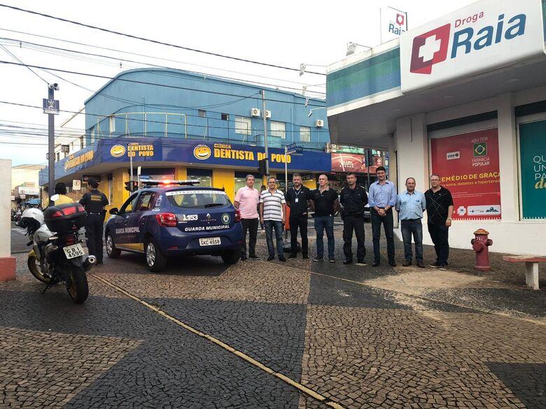 Acisc entrega câmeras de monitoramento da área central - Crédito: Divulgação