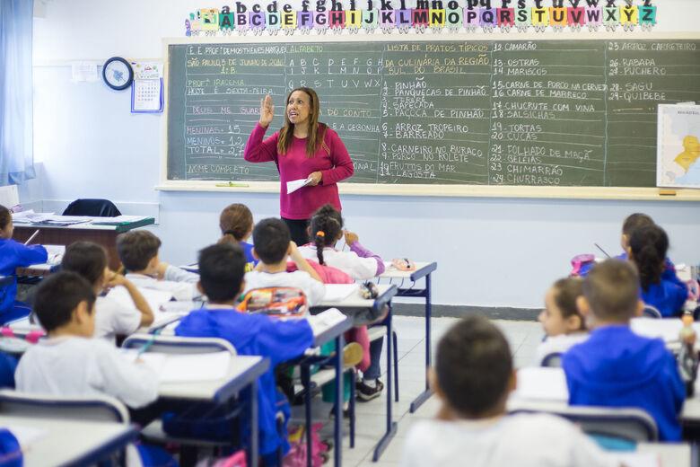 Alunos da rede estadual terão 15 minutos a mais de aula por dia - Crédito: Divulgação