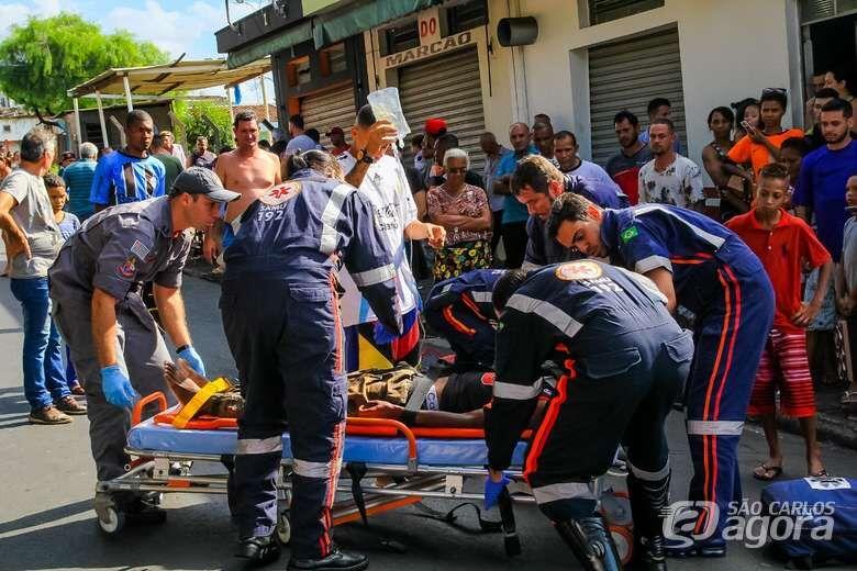 Morre na Santa Casa ciclista que se envolveu em acidente no Aracy - Crédito: São Carlos Agora