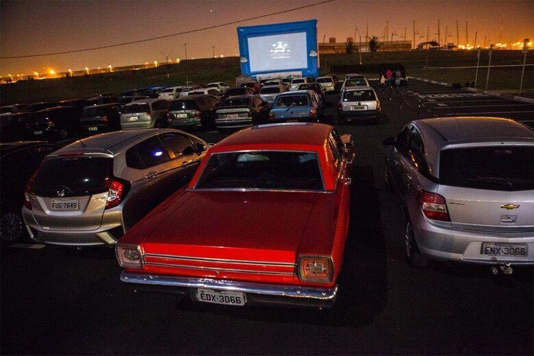 O charme do cinema drive-in chega em São Carlos - Crédito: Divulgação