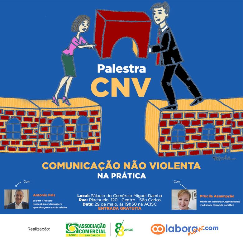 Acisc promove palestra gratuita sobre Comunicação Não Violenta -