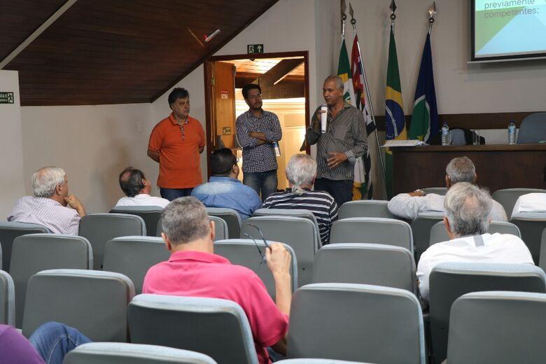 Câmara Municipal realizou na ACISC 2ª audiência sobre desdobro de lotes - Crédito: Divulgação