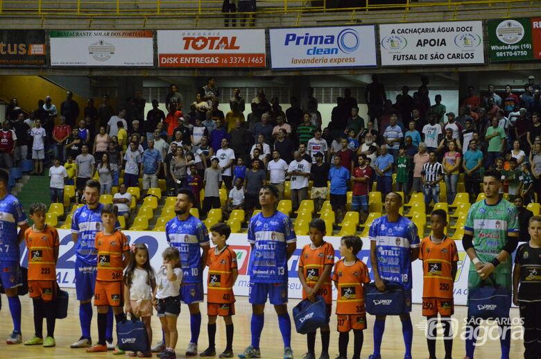 Partida entre São Carlos e Taubaté é remarcada para a próxima terça-feira - Crédito: Maicon Reis