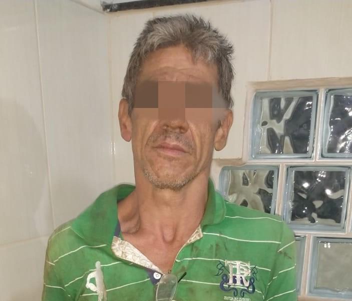 Ladrão é detido após furtar fiação elétrica no Jardim das Torres - Crédito: Divulgação