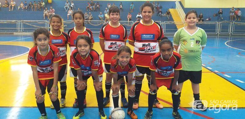 Futsal feminino da Mult Sport tem os primeiros desafios - Crédito: Divulgação