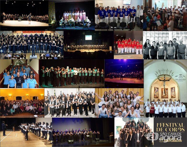 1º Festival de Coros São Carlos começa nesta sexta-feira -