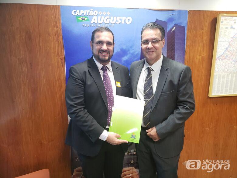 Julio Cesar em Brasília cobra Ministério e pede a deputados mais recursos para a Saúde - Crédito: Divulgação