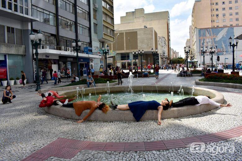 Grupo de Teatro-dança de São Carlos apresenta mostra em São Paulo - Crédito: Iratã Campos