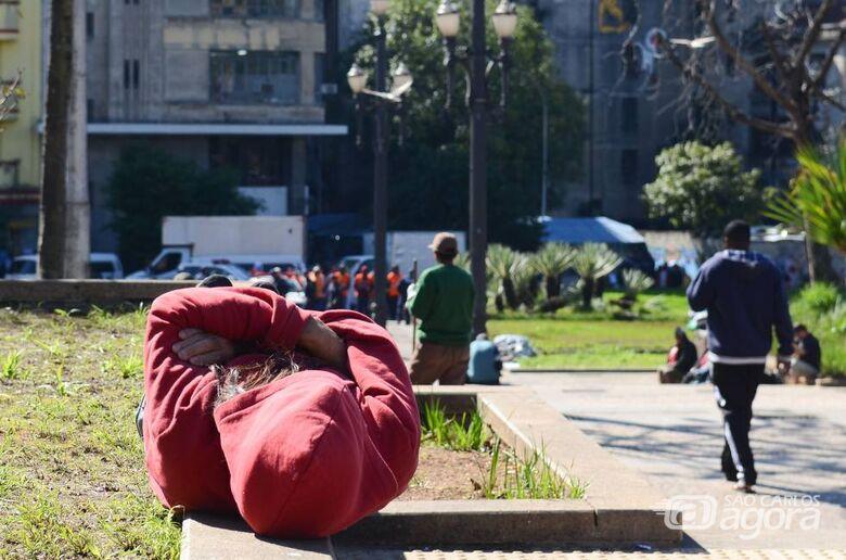 Sensação térmica chega aos 6ºC durante a madrugada em São Carlos -