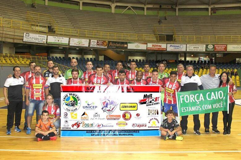 São Carlos Futsal encara Analândia e foca vitória com muitos gols - Crédito: Marcos Escrivani