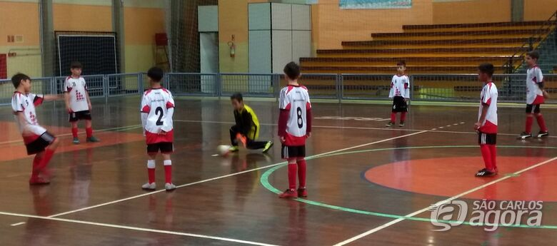 Único invicto, Salesianos A classifica em 1º na Copa Sesi - Crédito: Divulgação