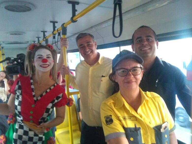 Suzantur São Carlos participa de ação da campanha Maio Amarelo - Crédito: Divulgação