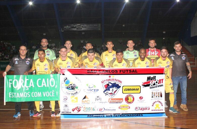 Empate coloca São Carlos Futsal na terceira fase da Taça EPTV - Crédito: Divulgação