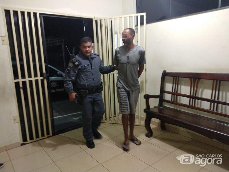 Homem é preso após descumprir medida protetiva - Crédito: São Carlos Agora