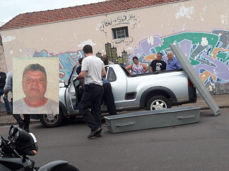Homem morre a caminho do trabalho - Crédito: Maycon Maximino