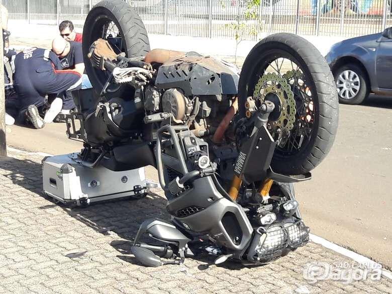 Motos respondem por 80% das internações pelos acidentes de trânsito - Crédito: Arquivo/SCA