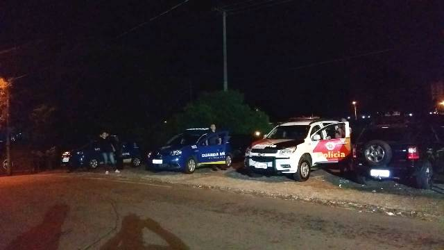 PM,GM e Fiscalização realizam operação noturna em bares e no Parque do Kartódromo - Crédito: Divulgação