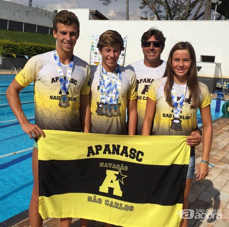 Atletas da Apanasc conquistam medalhas no troféu Kim Mollo - Crédito: Divulgação