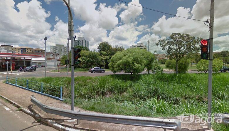 Prefeitura vai construir travessia no Córrego Monjolinho - Crédito: Google Maps