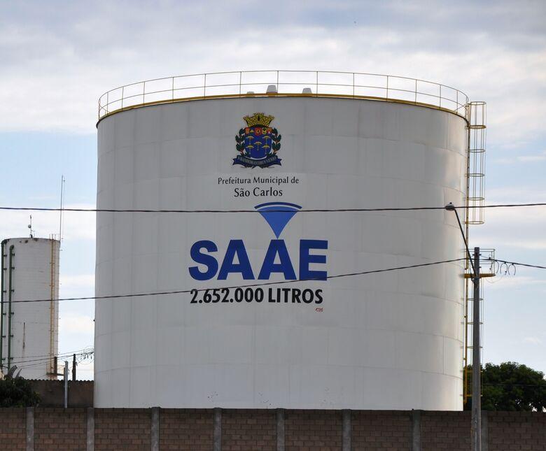 SAAE comunica que poderá faltar água em alguns bairros na tarde de sábado -