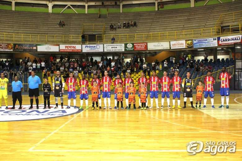 São Carlos Futsal busca mais um título inédito para o esporte são-carlense - Crédito: Joyce Fotografias
