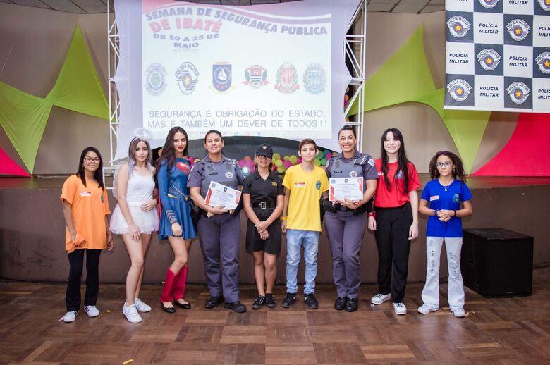 Horácio Sanchez participa da solenidade de abertura da Semana de Segurança Pública de Ibaté - Crédito: Divulgação
