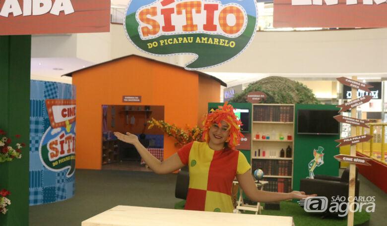 Sítio do Picapau Amarelo chega ao Iguatemi São Carlos com diversas atividades para a criançada - Crédito: Divulgação