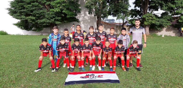 Sub11 do Multi Esporte/La Salle mantem a liderança no Campeonato Municipal - Crédito: Divulgação