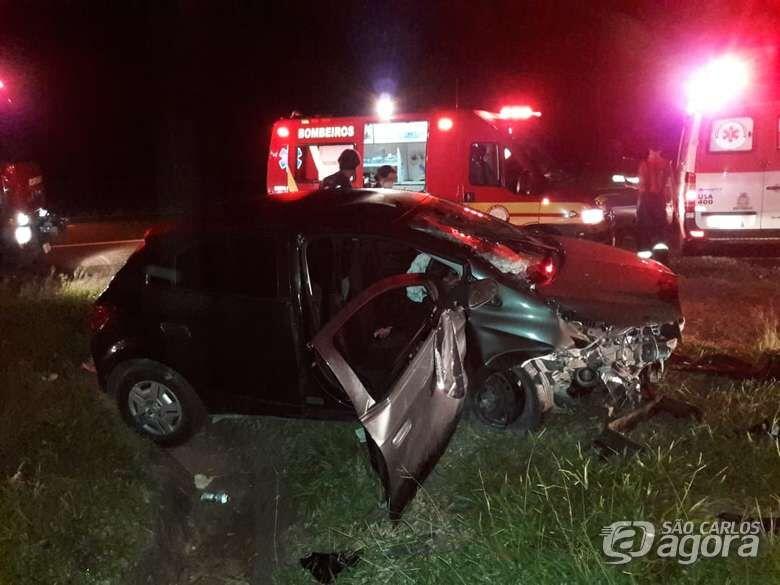 Idosa morre após carro atingir cachorro na Washington Luis em São Carlos - Crédito: São Carlos Agora
