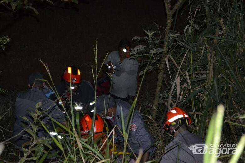 Homem é encontrado vivo cinco dias após ter sofrido um acidente de moto - Crédito: Lucas Castro/ RB na Rede