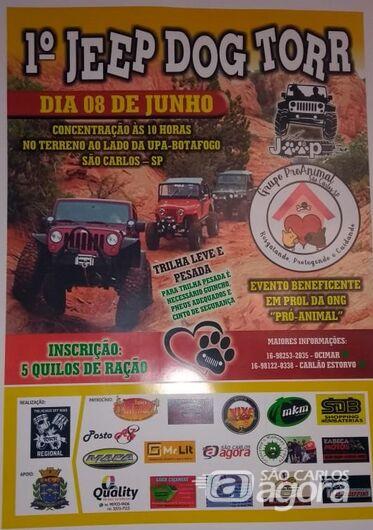 1º Jeep Dog Torr promete agitação e vai ajudar a ONG Pro-Animal -