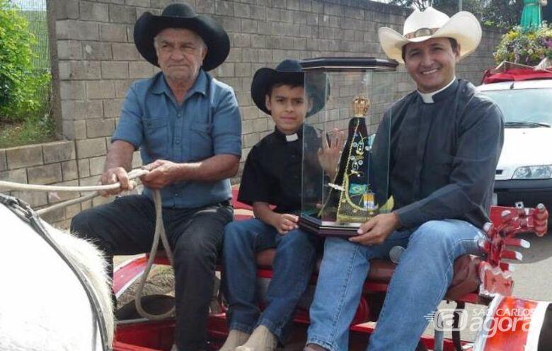 Nona edição da cavalgada de São Cristóvão visa construção de centro catequético no Jóquei - Crédito: Divulgação