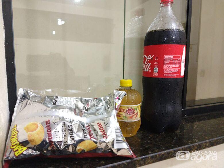 Jovem é detido após furtar loja de conveniência de posto de combustíveis - Crédito: Luciano Lopes