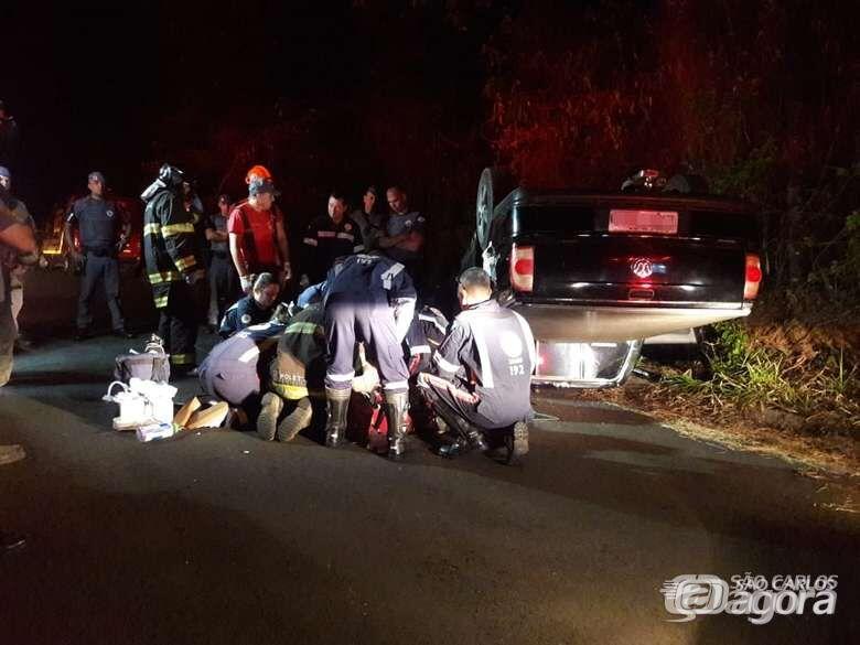 Morre motorista que passou mal ao volante e bateu em barranco no Planalto Verde - Crédito: Maycon Maximino