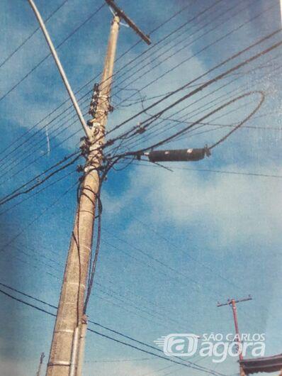 Ladrões furtam cabos e fiação da Telefónica - Crédito: Divulgação