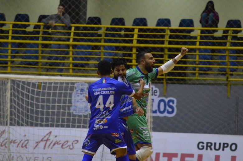 Com hat-trick de Keké, São Carlos vence o Joaçaba e se recupera na Liga Nacional - Crédito: Maicon Reis
