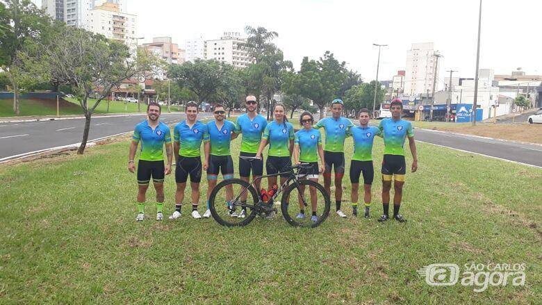 São-carlenses buscam pódio na Copa São Paulo de Ciclismo - Crédito: Divulgação