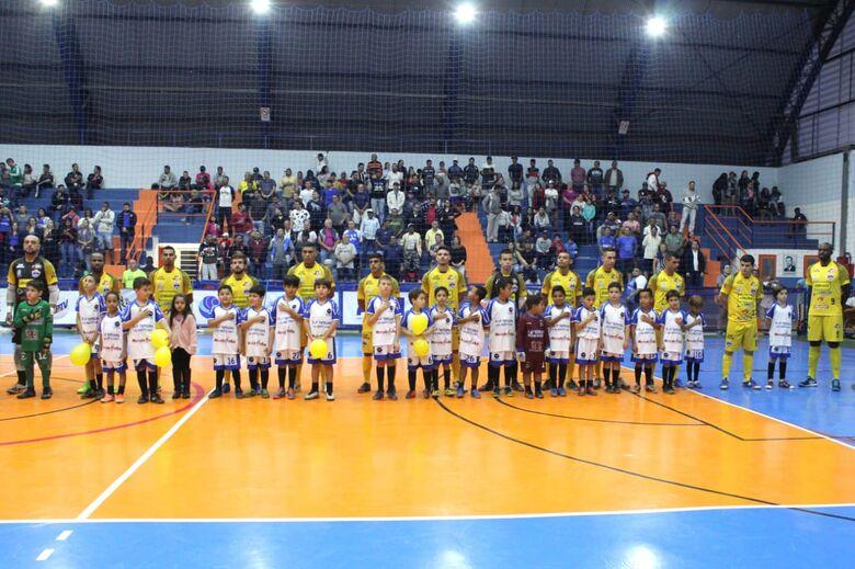 São Carlos Futsal vence nos segundos finais e é finalista da Taça EPTV - Crédito: Joyce Fotografias
