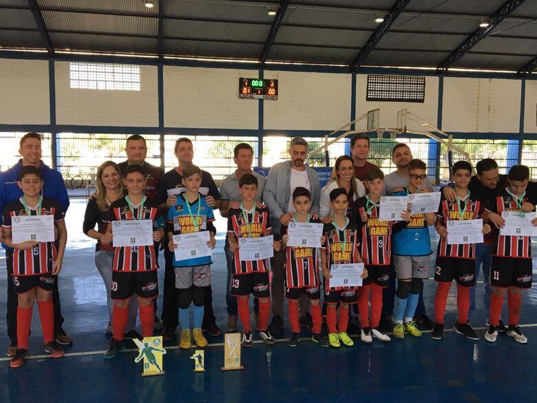 Multi Esporte/La Salle conquista a Copa SE Palmeiras - Crédito: Divulgação