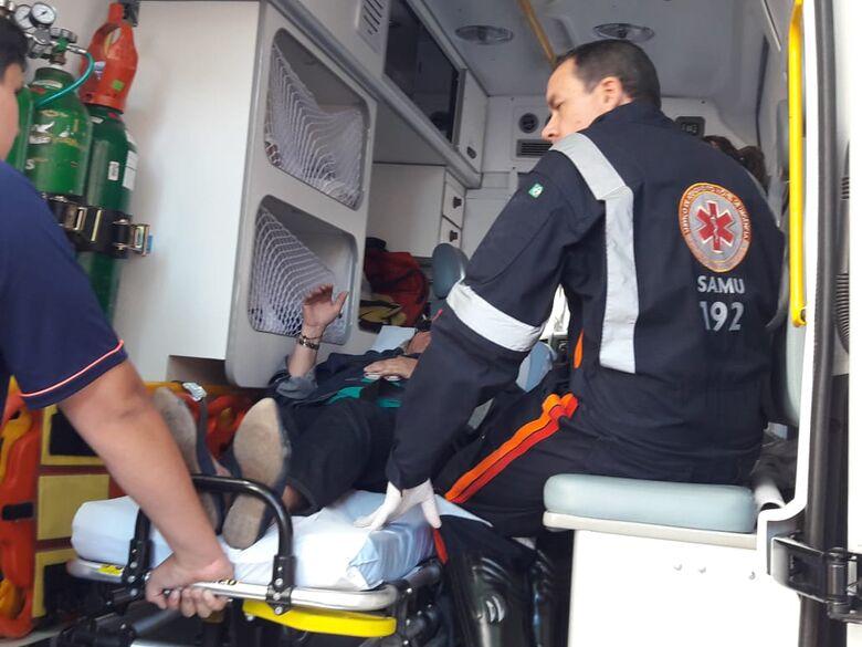 Motorista provoca acidente e foge sem prestar socorro à vítima - Crédito: Maycon Maximino